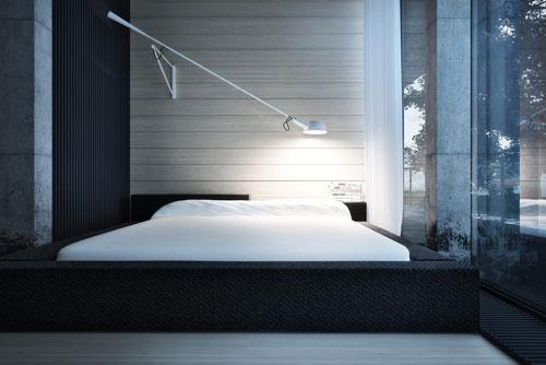 спальни в стиле модерн в светлых тонах 20