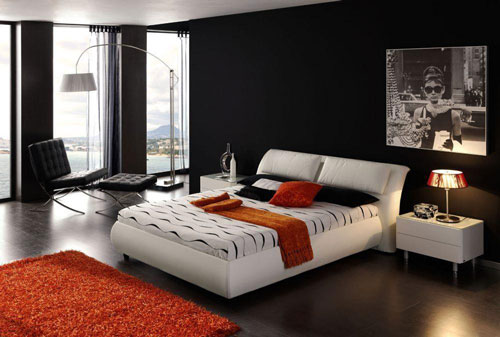 спальни в стиле модерн в светлых тонах 16