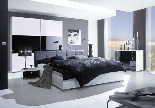 спальни в стиле модерн в светлых тонах 11
