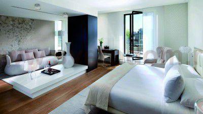 спальни в стиле модерн в светлых тонах 5