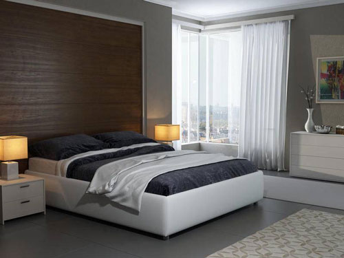 Спальня в стиле модерн 2