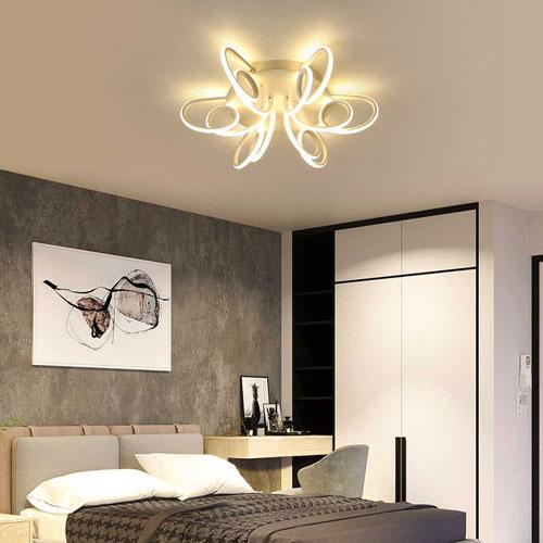 светильники для спальни в стиле модерн фото 2