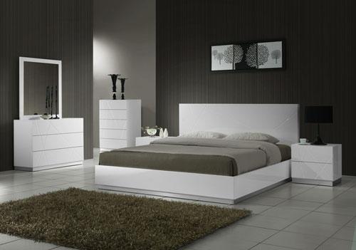 светлая спальня в стиле модерн 2
