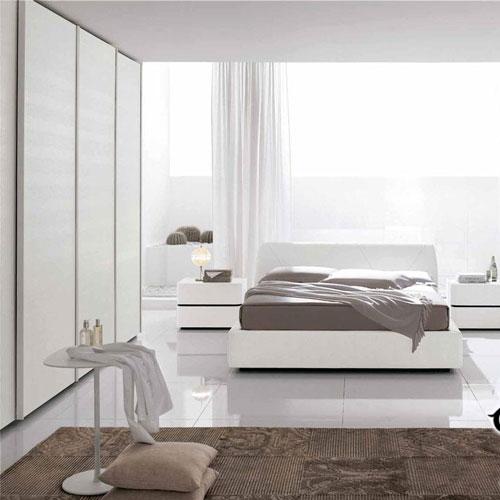 светлая спальня в стиле модерн 3