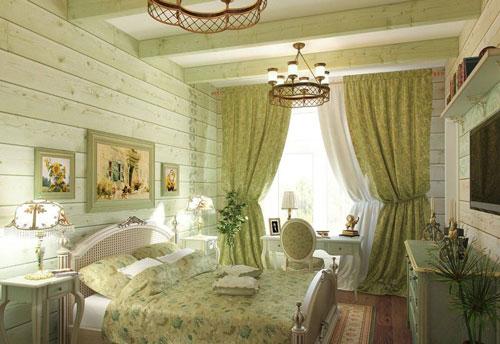 дизайн спальни в стиле прованс 4