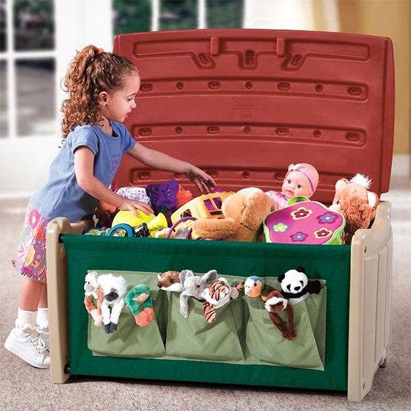 где хранить мягкие игрушки в детской