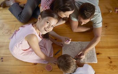 Дети и родители на дистанционке 3
