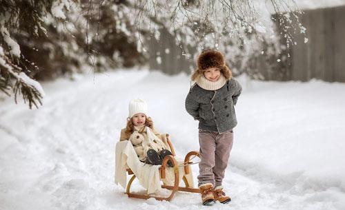 Красивые стихи про зиму для детей