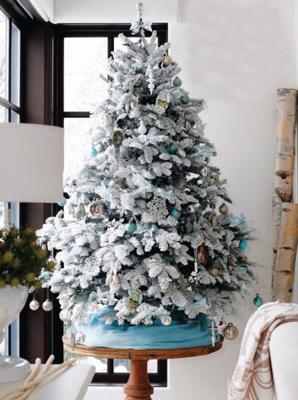 красиво украсить елку на новый год фото