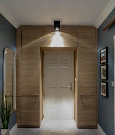 система хранения под потолком в коридоре 2