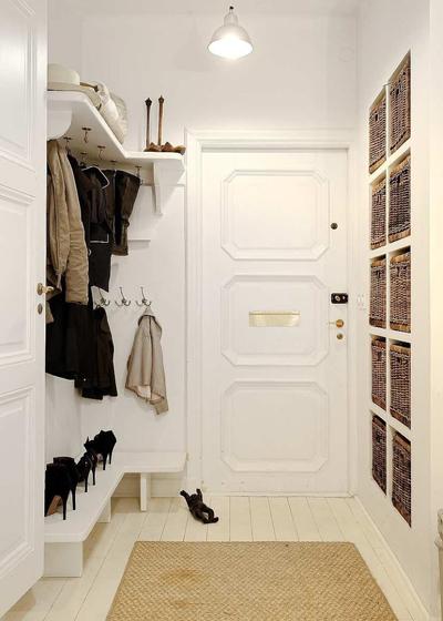 система хранения в коридоре 7