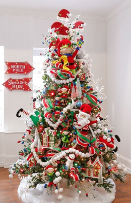 Идеи как красиво и оригинально украсить елку на Новый год 4