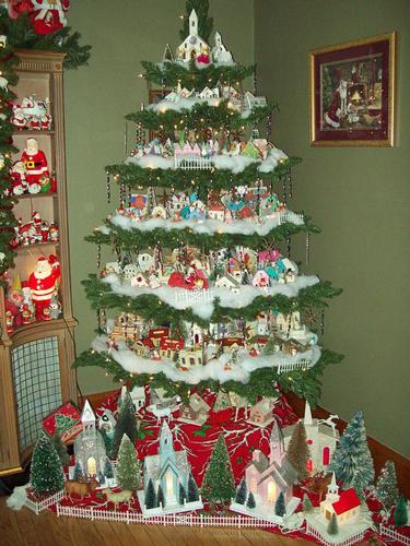 Красивые елки на Новый год 2