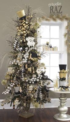 Как красиво украсить елку на Новый год 10