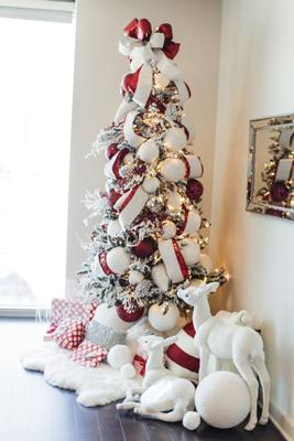 Как красиво украсить елку на Новый год 9