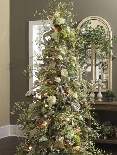 Как красиво украсить елку на Новый год 8