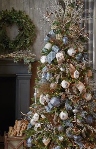Как красиво украсить елку на Новый год 7