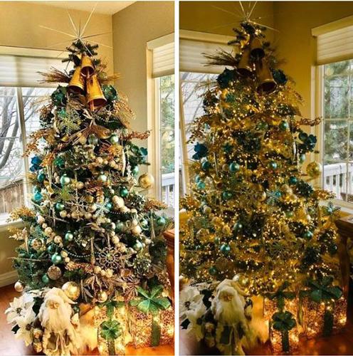 Идеи как красиво и оригинально украсить елку на Новый год 3