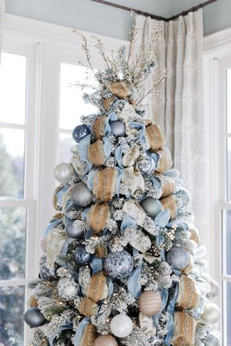 Как красиво украсить елку на Новый год 6