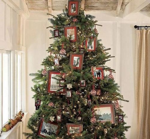 Как красиво украсить елку на Новый год 5