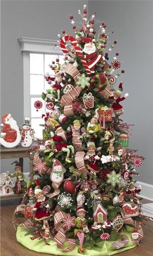 Как красиво украсить елку на Новый год 2