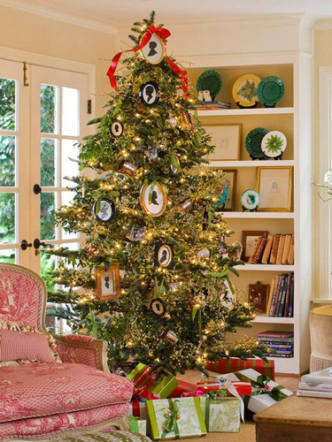 Идеи как красиво и оригинально украсить елку на Новый год 9