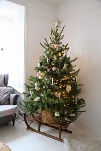 Идеи как красиво и оригинально украсить елку на Новый год 7