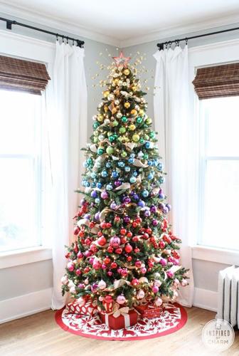 Идеи как красиво и оригинально украсить елку на Новый год 6