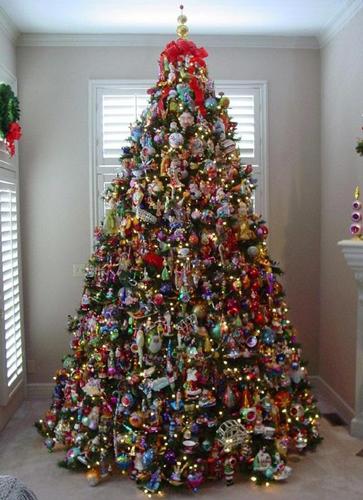 Идеи как красиво и оригинально украсить елку на Новый год 5