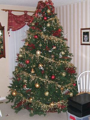 Красивые елки на Новый год 22