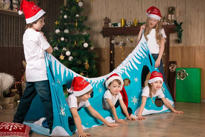 Интересные конкурсы на Новый год для детей 6-7 лет