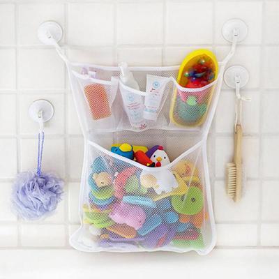 как хранить детские игрушки в ванной