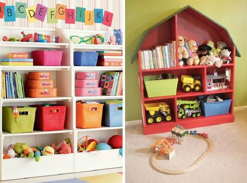 как хранить детские игрушки в однокомнатной квартире 2
