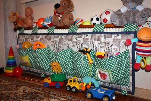 как лучше хранить детские игрушки
