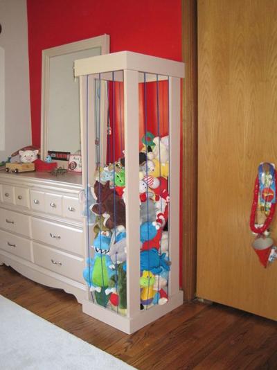 идеи хранения детских игрушек 11