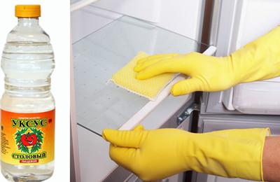 как избавиться от неприятного запаха в холодильнике в домашних условиях быстро