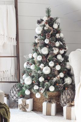 красиво украсить елку на новый год 2021