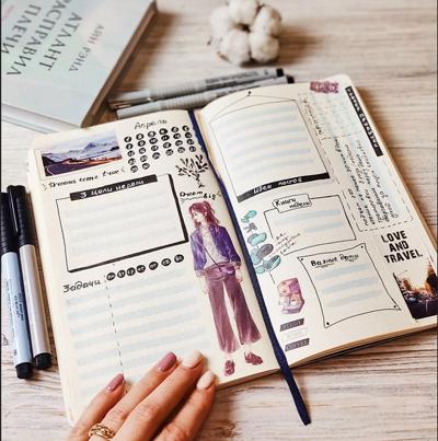 как правильно и красиво вести ежедневник