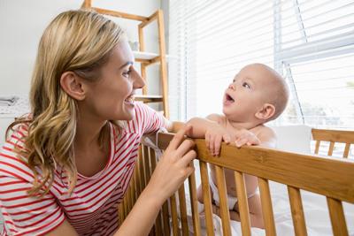 как научить ребенка говорить слово мама