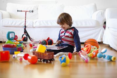 как приучить ребенка убирать игрушки в 4 года