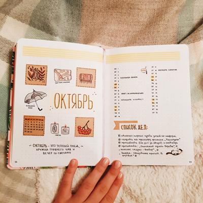 как правильно вести ежедневник девушке
