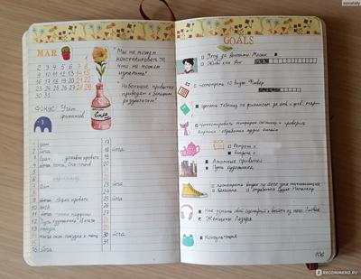 как правильно вести ежедневник подростку девушке