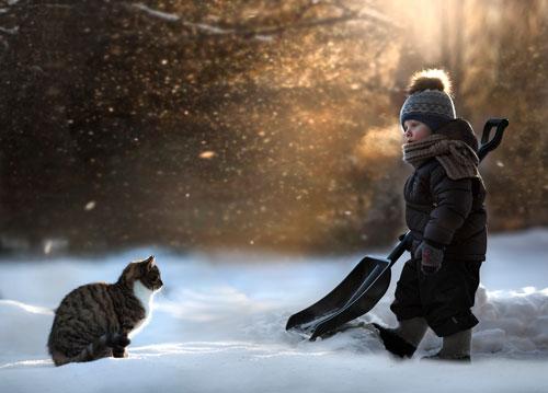 Короткие и красивые стихи про зиму для детей и взрослых