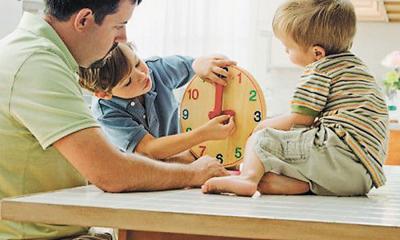 Научить ребенка в 7 лет определять время по часам