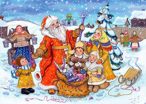 Красивые стихи про Новый год для детей 4-5 лет