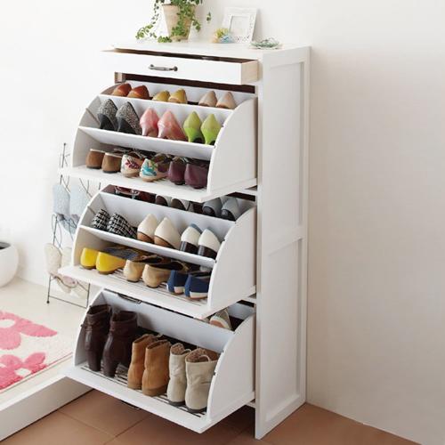 хранение обуви в коридоре 4