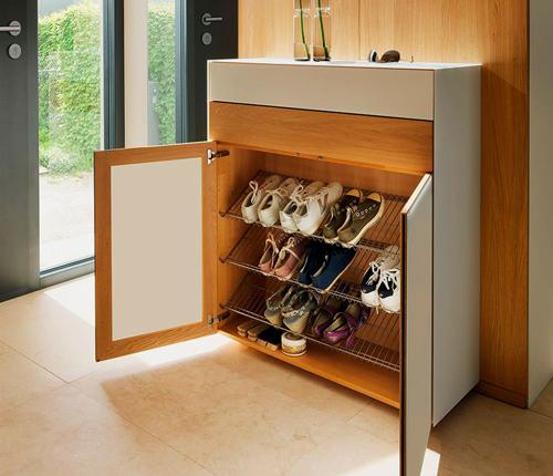 хранение обуви в коридоре 2