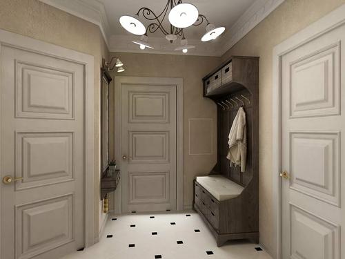 система хранения в коридоре 3