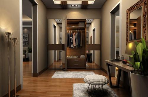 места хранения в коридоре 2