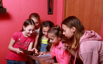 квест для детей в домашних условиях на Новый год